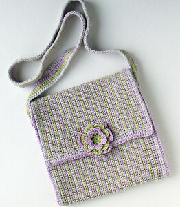 Crochet Shoulder Bag Patterns - Online Crochet Instruction