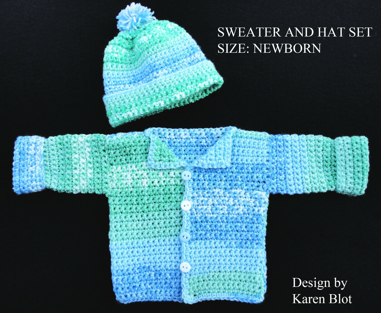 Baby to Kid Crochet Hat Crochet Pattern | Red Heart
