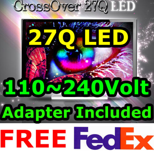 "★CROSSOVER★ 27Q LED High-Resolutio​n​ 2560x1440 QHD DVI-D Dual S-IPS 27"" Monitor in Computers/Tablets & Networking, Monitors, Projectors & Accs, Monitors 