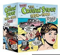 CRUISIN-STORY-1956-1960-CHUCK-BERRY-BUDDY-HOLLY-ELVIS-PRESLEY-PLATTERS-10CD