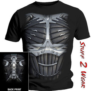Crysis 2 chest plate t shirt official s m l xl mens black for T shirt sprüche m nner