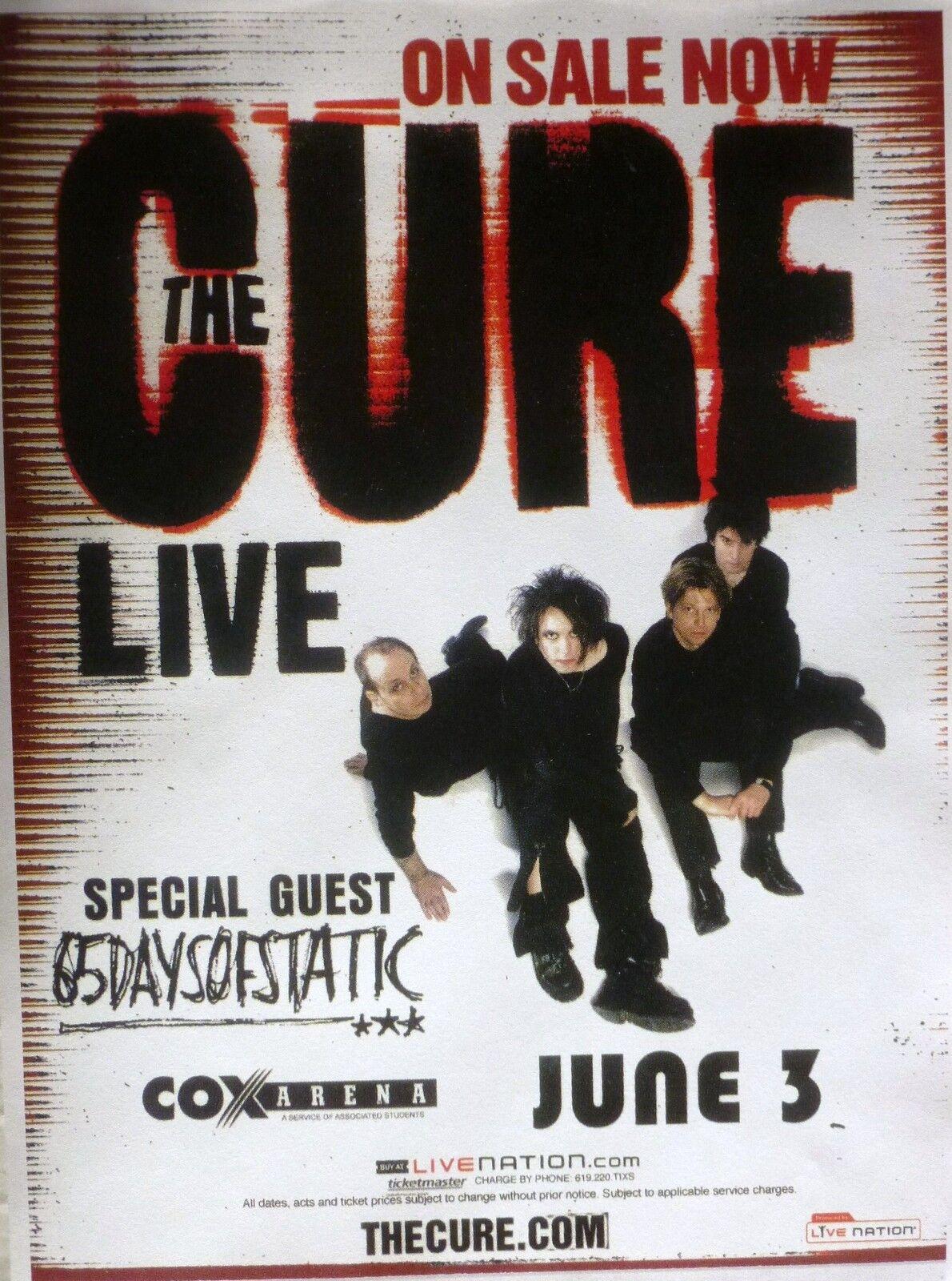 The Cure Concert Tour