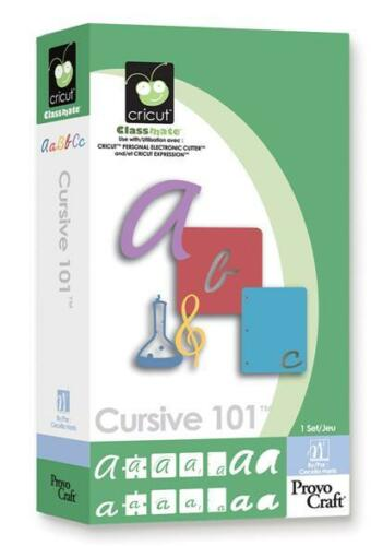 CURSIVE 101 Cricut Cartridge Brand New Sealed! in Crafts, Scrapbooking & Paper Crafts, Scrapbooking Tools | eBay