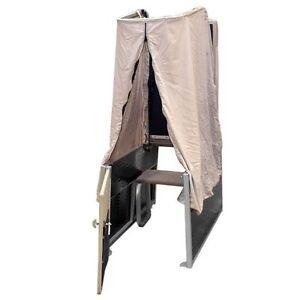 Custom Pontoon Boat Seat Pop Up Privacy Curtain Changing Room | eBay