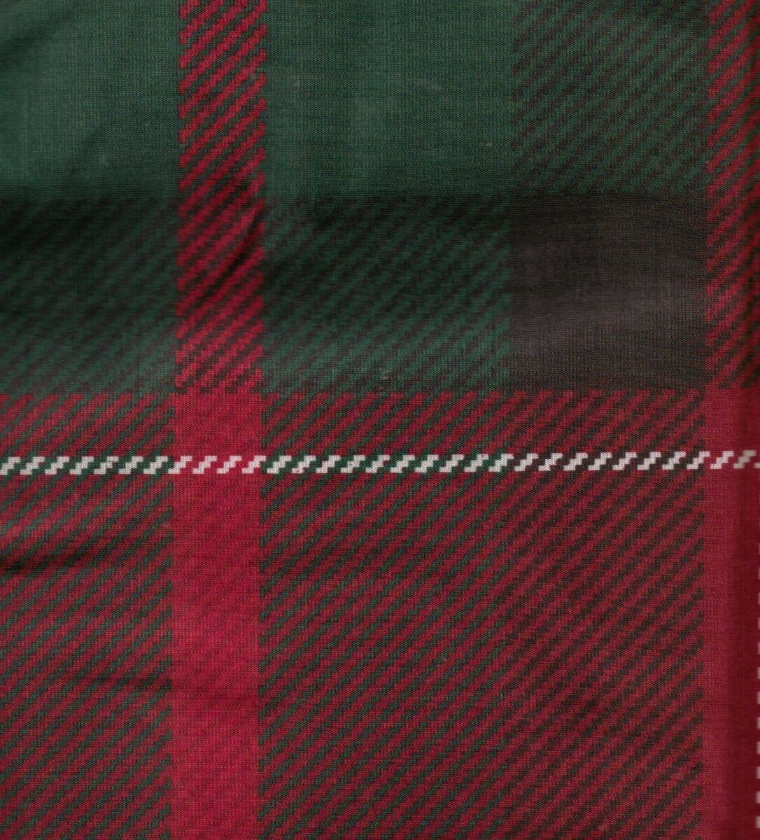Curtains Ideas black and green shower curtain : Cabin Lodge Tartan Plaid Burgundy Red Black Fabric Shower Curtain NEW