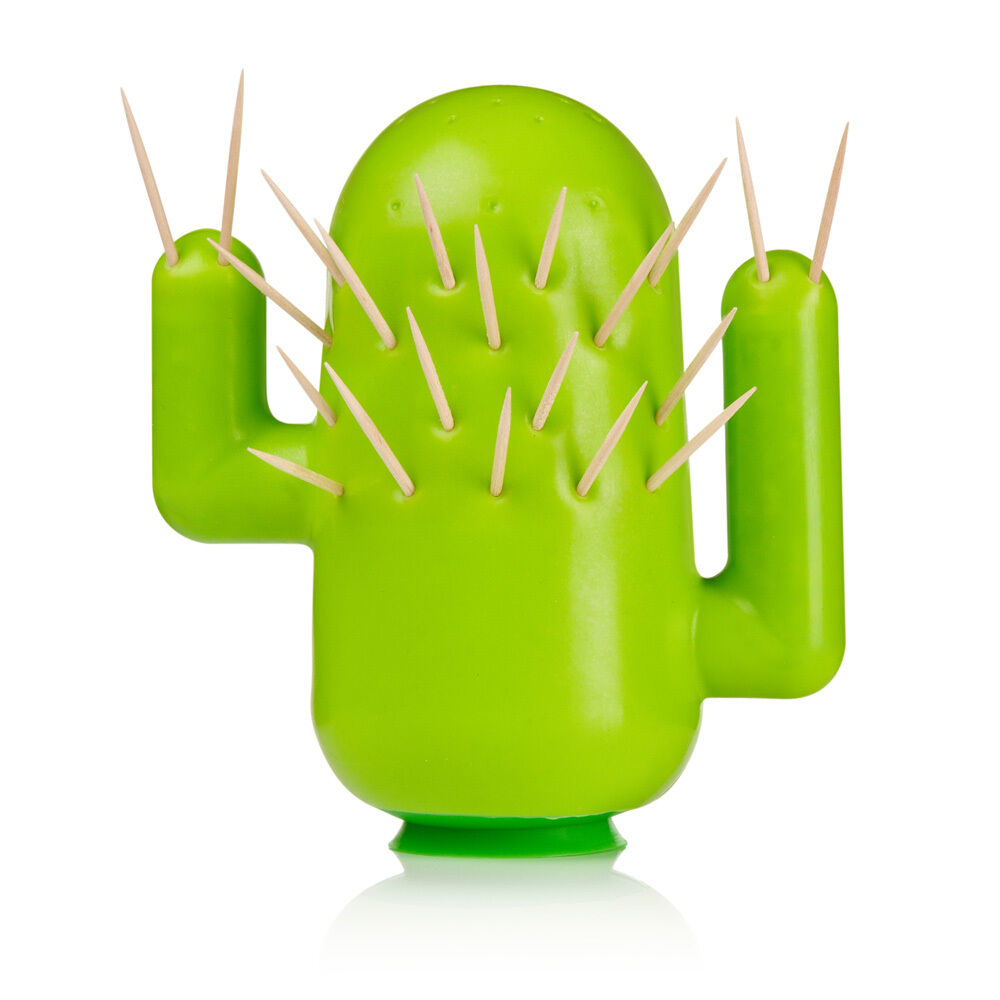 Cactooph cactus shaped toothpick cocktail stick holder by mustard ebay - Cactus toothpick holder ...