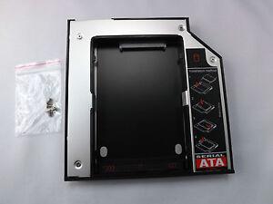 Caddy-zweiter-Festplattenrahmen-SATA-HDD-SSD-Dell-N4040-M4010-750-760E-TM15X
