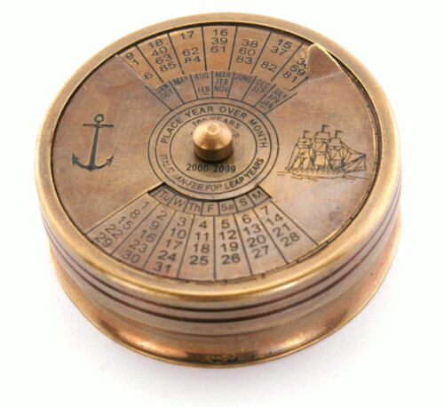 Calendar compass Inscribed with Robert Frost Poem - The road not taken in Antiques, Maritime, Compasses | eBay
