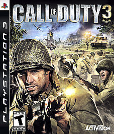 Call of Duty 3  (Sony Playstation 3, 200...