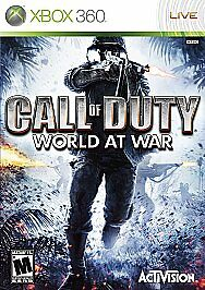 Call of Duty: World at War  (Xbox 360, 2...