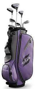 Callaway Strata Ladies 11 pc Club Set Right Hand Std Set with Bag Graphite New in Sporting Goods, Golf, Clubs | eBay