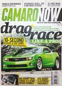 Camaro  Magazine on Camaro Now Magazine   5th Gen Only   Summer 2012
