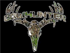 Deer Skull Camo http://www.ebay.com/itm/Camo-Bowhunter-Deer-Skull-S4-Vinyl-Sticker-Decal-Buck-hunting-whitetail-trophy-M-/260861518411