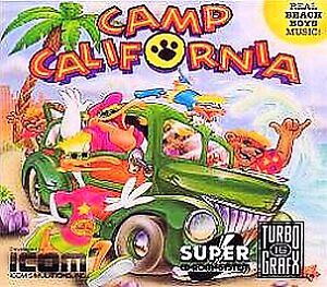Camp California  (TurboGrafx-CD, 1993)