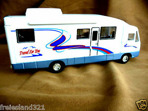 Camping-Wohnmobil-Camper-Caravan-Campingwagen-Modellautos-Spielzeugautos-G
