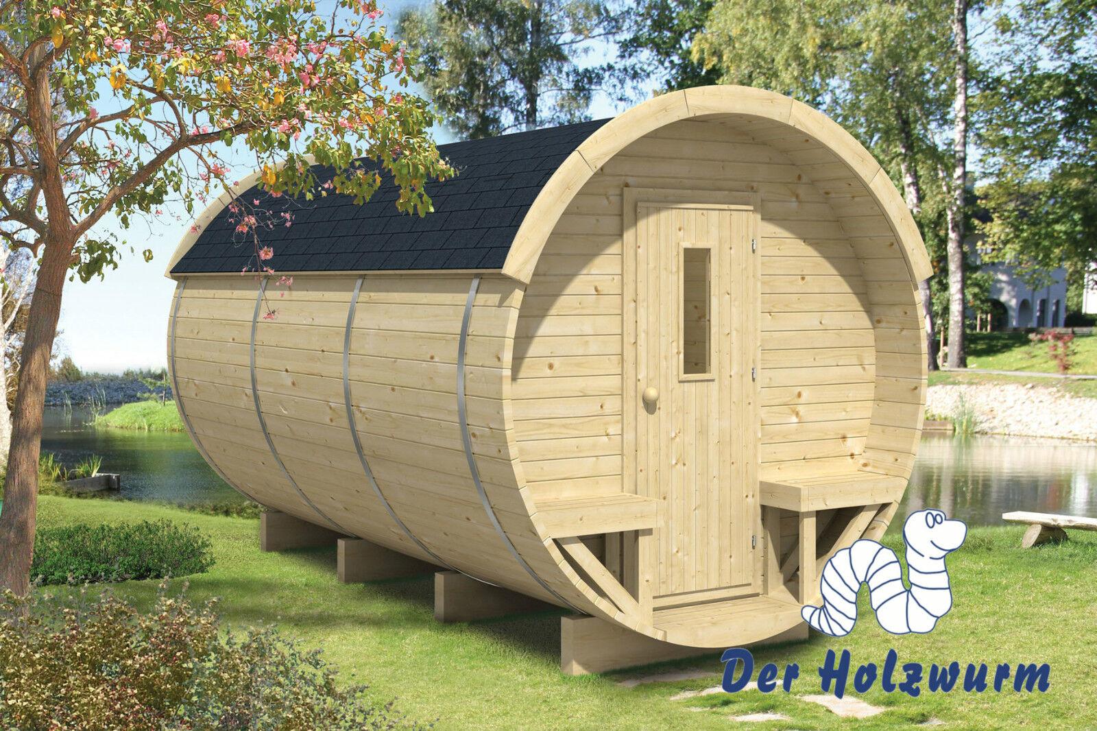 Campingfass Holz 215x330 Cm Holzhaus 28 42 Mm Holzfass Fass
