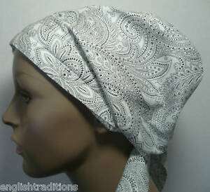 Scarves Hair Loss on Cancer Hat Chemo Head Scarf Turban Hair Loss Alopecia Paisley Cotton