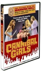 Cannibal Girls (DVD, 2010)