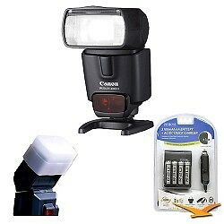 Canon 430EX II EOS Speedlite Flash w/ Batteries and Diffuser in Cameras & Photo, Flashes & Flash Accessories, Flashes | eBay