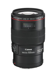 Canon EF 100 mm F/2.8 L IS USM Lens