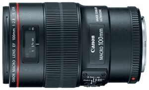 Canon EF 100mm f/2.8 L IS USM Objektiv (...
