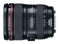Canon EF 24-105 mm F/4 L IS USM Lens