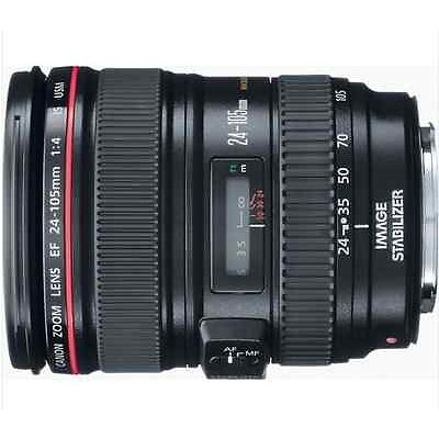 Canon EF 24-105mm f/4L IS USM Autofocus Lens for Canon EOS 24-105 USA in Cameras & Photo, Lenses & Filters, Lenses | eBay
