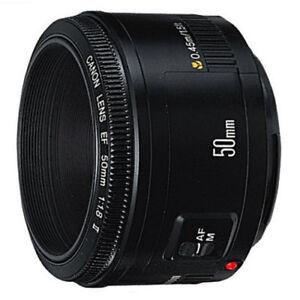 Canon EF 50mm f/1.8 II Autofocus Lens(500d 550d 60d 7d) in Cameras & Photo, Lenses & Filters, Lenses | eBay