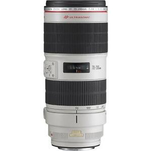 Canon EF 70-200 mm F/2.8 L IS USM Lens