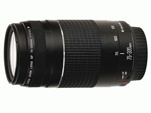 Canon EF 75-300mm F/4.0-5.6 III Lens New in Box!!! in Cameras & Photo, Lenses & Filters, Lenses | eBay