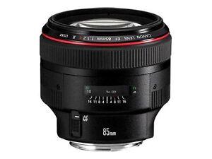 Canon EF 85mm f/1.2 II L AF USM Lens