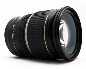 Canon EF-S 17-55 mm F/2.8 IS USM Lens