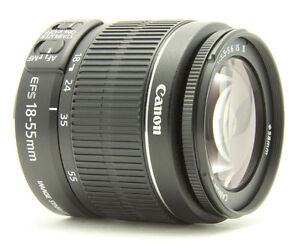 Canon EF-S 18-55 mm F/3.5-5.6 II IS Obje...