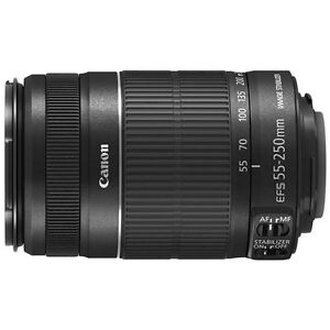 Canon EF-S 55-250 mm F/4-5.6 II IS Lens