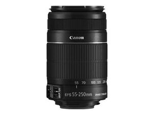 Canon EF-S 55-250mm F/4.0-5.6 II IS Lens New in Box!! in Cameras & Photo, Lenses & Filters, Lenses | eBay