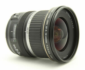 Canon EF-S 9518A002 10-22 mm F/3.5-4.5 U...