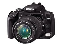 Canon EOS 10.1 MP Digitalkamera - Schwar...