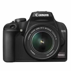 Canon EOS 1000D / Rebel XS 10.1 MP Digit...