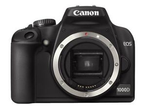 Canon EOS 1000D / Rebel XS 10,1 MP Digit...