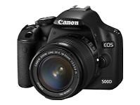 Canon EOS 500D 12 MP Digitalkamera - Sch...