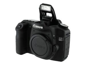 Canon EOS 50D 12 MP Digitalkamera - Schw...