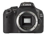 Canon EOS 550D 16 MP Digitalkamera - (Nu...
