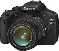 Canon EOS 550D / Rebel T2i 18.0 MP Digit...