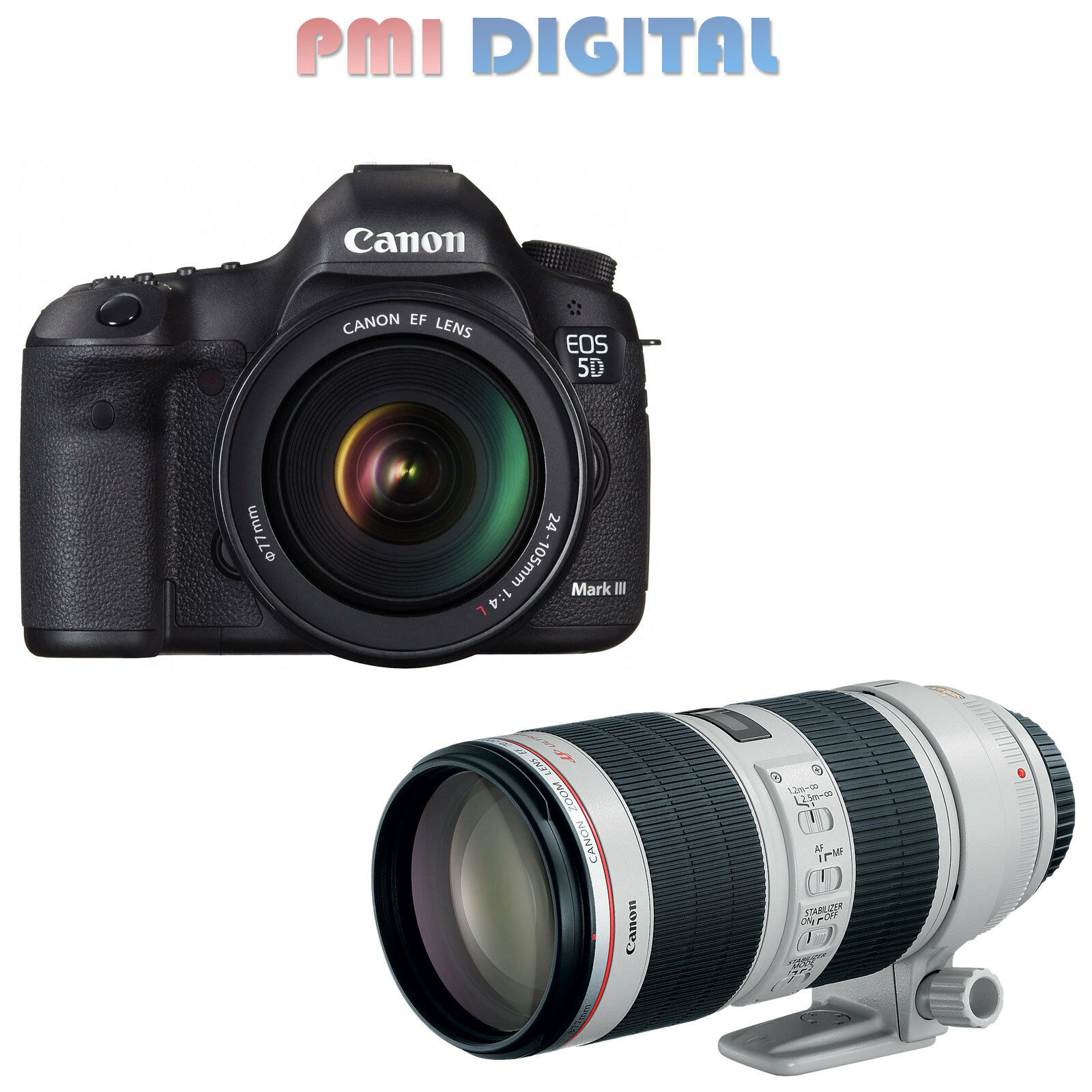 Canon eos 5d mark iii body canon ef 70 200mm f 2 8 l is ii for 5d mark iii body