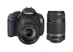 Canon EOS 600D 18,0 MP Digitalkamera - S...