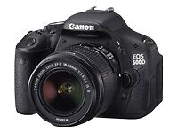 Canon EOS 600D 18,7 MP Digitalkamera - S...