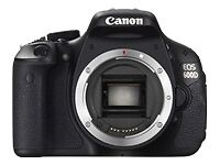 Canon EOS 600D 19,0 MP Digitalkamera - S...