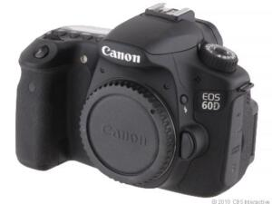 Canon EOS 60D 18,0 MP Digitalkamera - Sc...