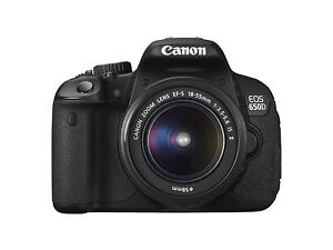 Canon EOS 650D / Rebel T4i 18.0 MP Digit...