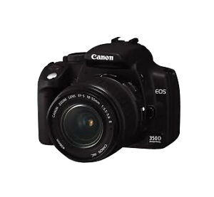 Canon EOS 8 MP Digitalkamera - Schwarz (...